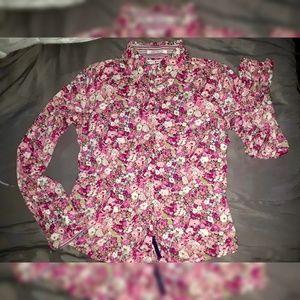 TOMMY HILFIGER Women's Floral Button Down Shirt